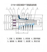 DYM15固定端园PT型锚具